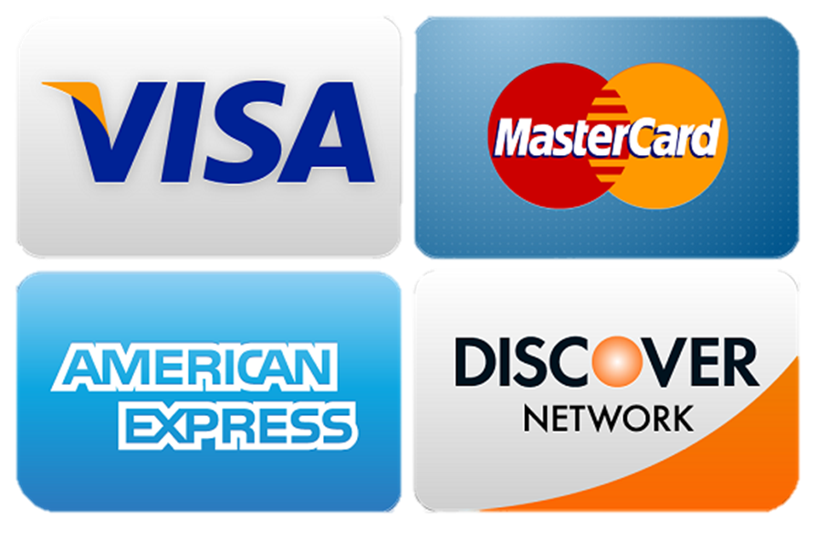 Supporting any Major Debit and Credit brands