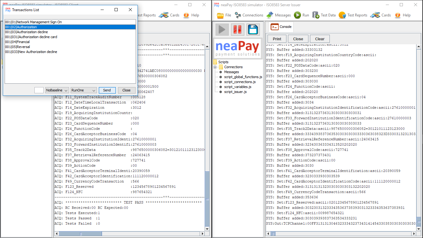 Enabling traces in the payments simulator